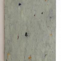 Peter Tollens, Grau Grün Violett Rot Ocker Indisch Gelb, 1987
