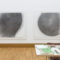 Ausstellungsansicht / Exhibition view, Stefan Löffelhardt (l.), Maik & Dirk Löbbert (r.)