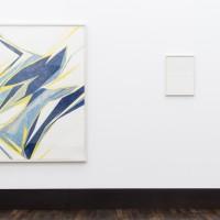Ausstellungsansicht / Exhibition view, Karim Noureldin (l.), Schirin Kretschmann (r.)