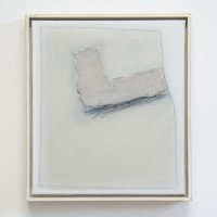 Erwin Bechtold, Zum Winkelthema, 1996, Acryl auf Leinwand, 41 x 36 cm