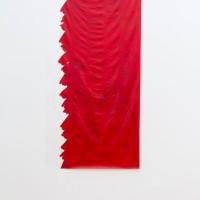 Antonio Scaccabarozzi, Quantità rossa su polietilene, 1987