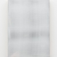 Timo Kube, Untitled silk (in white) #3, 2015