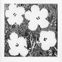 After Andy Warhol: Flowers (Variation I), 2015