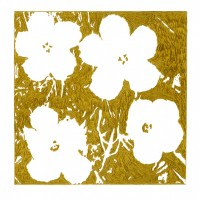 John Zinsser, After Andy Warhol: Flowers, 2015