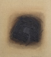 Erwin Bechtold, Bild 95-6 zum Thema Winkelbogen zentral, 1995