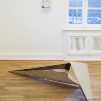 """Ausstellungsansicht """"Painting and Beyond"""", Lilah Fowler (v.), Adam Kokesch"""