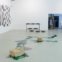 Ausstellungsansicht / installation view PLASTIK, 09.-13.04.2014