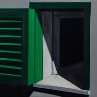 Tim Trantenroth, Fensterladen grün, 2008